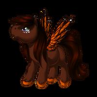 Shadowed Monarch Pegasus Baby