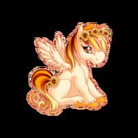 Sunkissed Daisy Alicorn Baby