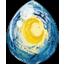 Starry Starry Night Unicorn Egg