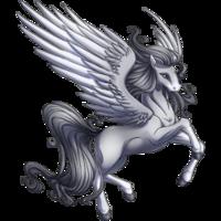 Silver Pegasus