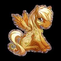 Apple Pie Alicorn Baby