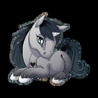 Brokenhearted Unicorn Baby