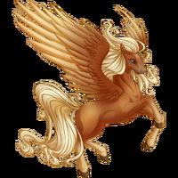 Flaxen Chestnut Pegasus