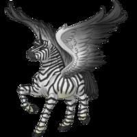 Zebra Alicorn