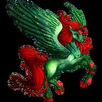 Jade Statue Pegasus