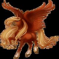 Red Chestnut Alicorn