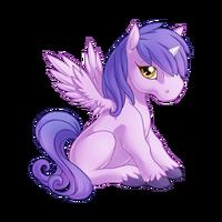 Lilac Alicorn Baby