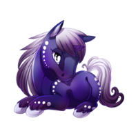 Twilight Tear Unicorn Baby