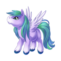 Wisteria Pegasus Baby