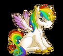 Celestial Rainbow Alicorn