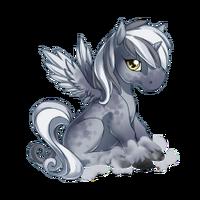 Fog Alicorn Baby