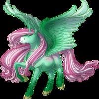 Sparkling Pistachio Alicorn