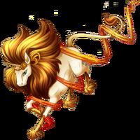 Leo Unicorn Bronze