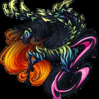 Black Anniversary 2015 Pegasus V2 Striped
