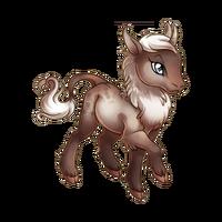 Faded Rose Heraldic Unicorn Baby