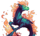 Fire Forged Hippocampus