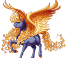 Fire Forged Alicorn