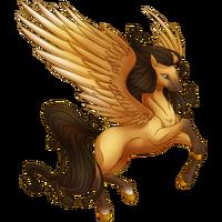 Buckskin Pegasus