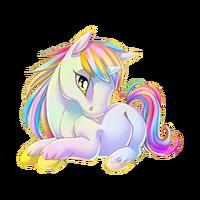 Prismatic Splash Unicorn Baby