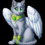 Silver mascot