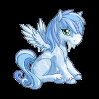 Frost Alicorn Baby