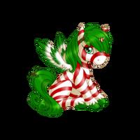 Peppermint Alicorn Baby