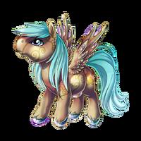 Crystal Gem Pegasus Baby Pearl