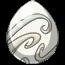 Winter White Unicorn Egg