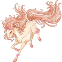 Soft Blossoms Unicorn