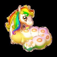 Celestial Rainbow Spring Fairy Baby