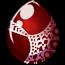 Cranberry Velvet Egg