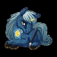 Starry Starry Night Unicorn Baby