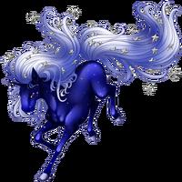 Winter Night Unicorn