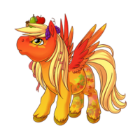 Autumn Bounty Pegasus Baby