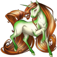Caramel Apple Unicorn V2