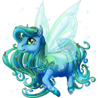 Ocean Treasure Spring Fairy