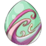 Sparkling Pistachio Unicorn Egg