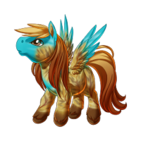 Autumn Skies Pegasus Baby