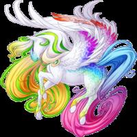 White Anniversary 2015 Pegasus V2 Speckled