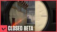 Closed Beta begins in EU NA VALORANT