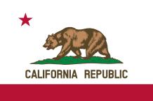 Khalifornia lippu 1899-1920