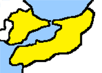 Saudistanin kartta