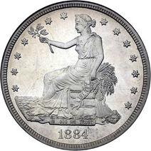 1884 trade dollar obv