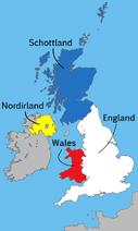 UK map countries DE