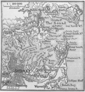 Karte Sydney MKL1888