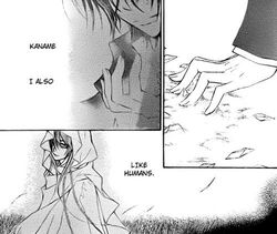 The Hooded Woman and Kaname