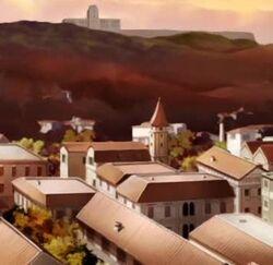 Vampire Knight town