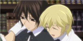 Kaname und Ichijo