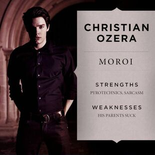 Christian character profile poster