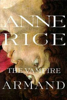 The vampire Armand book cover